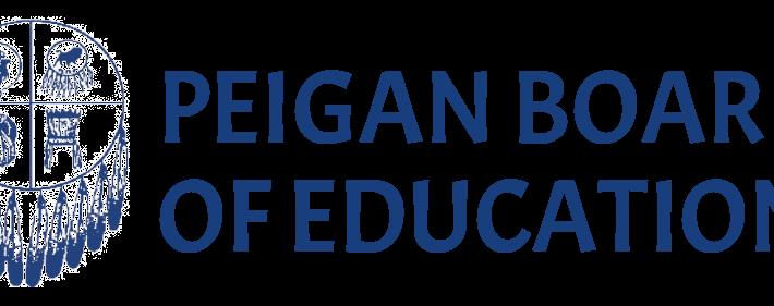 Peigan Board of Education Logo